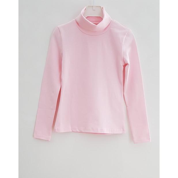 Rožinis golfas mergaitėms
