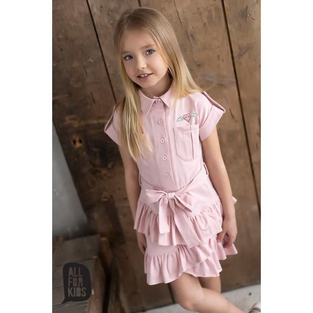 """Rožinė suknelė """"Meilė"""""""