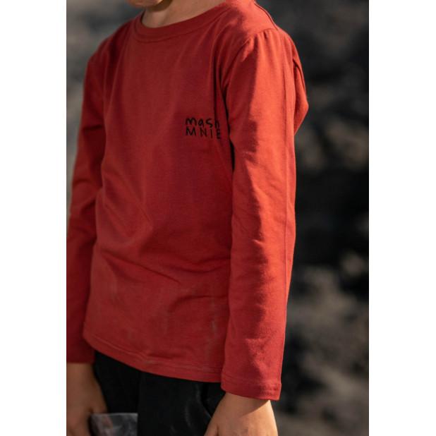 """""""Mash Mnie"""" rusvi marškinėliai"""