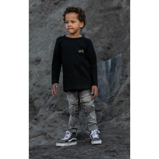 """""""Mash Mnie"""" juodi marškinėliai"""