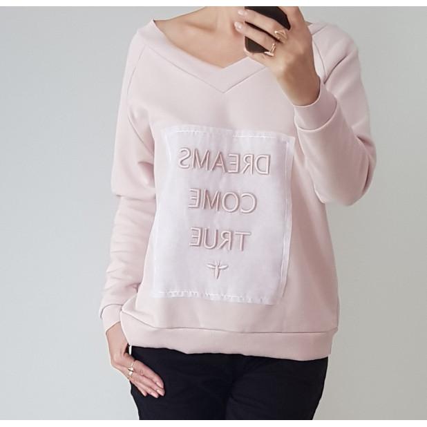 """Rausvas džemperis """"Svajonės..."""
