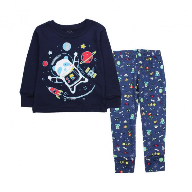 """Mėyna pižama """"Panda kosmose"""""""