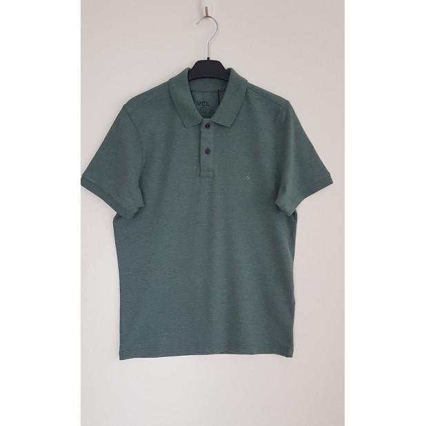 Žalsvi polo marškinėliai