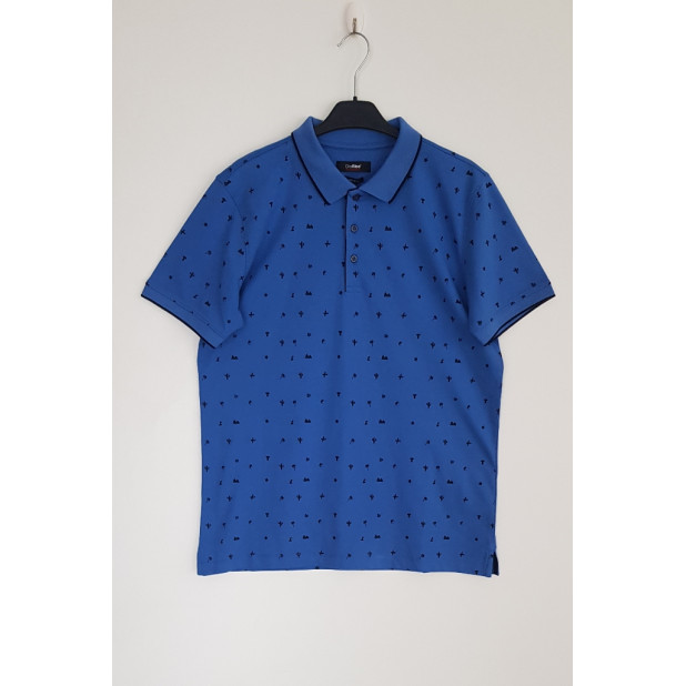 Mėlyni polo marškinėliai...