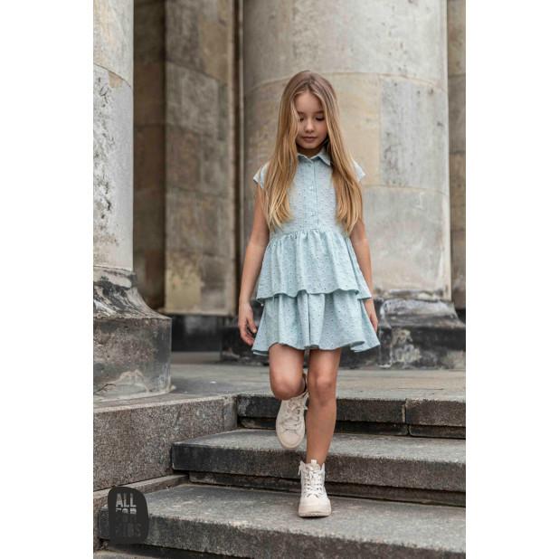 """Mėtos spalvos suknelė """"Diva"""""""
