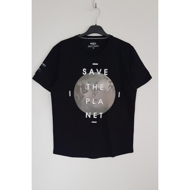 """Juodi marškinėliai """"Save..."""