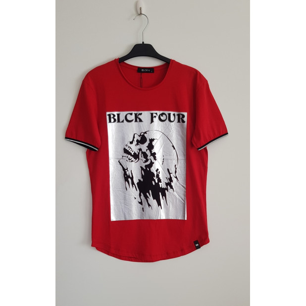 """raudoni marškinėliai """"Blck..."""
