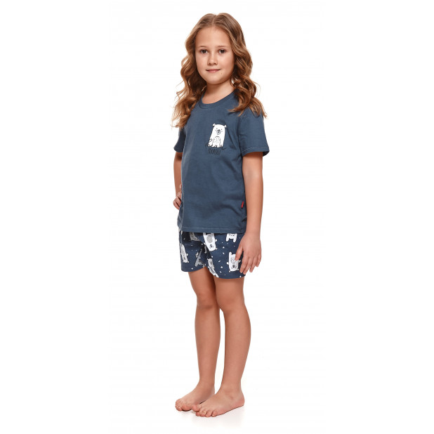 Mėlyna pižama mergaitėms...