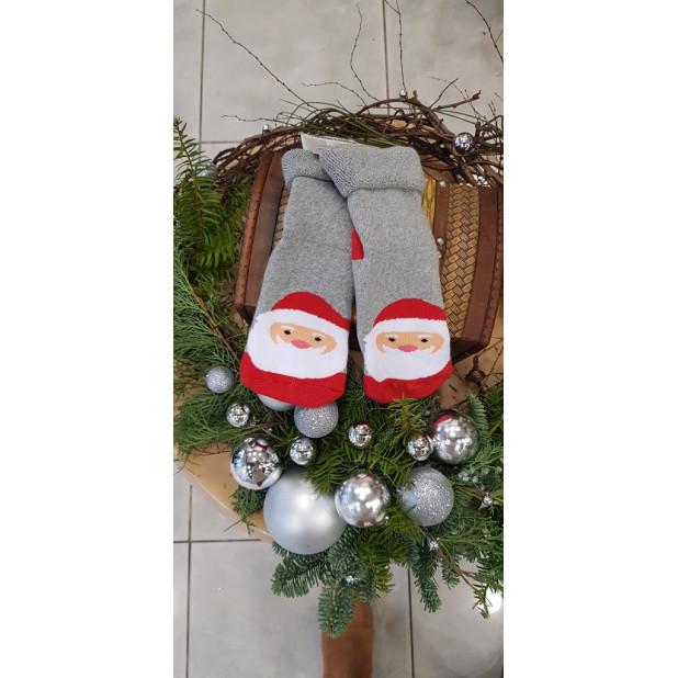 """Pilkos kojinės """"Kalėdų..."""