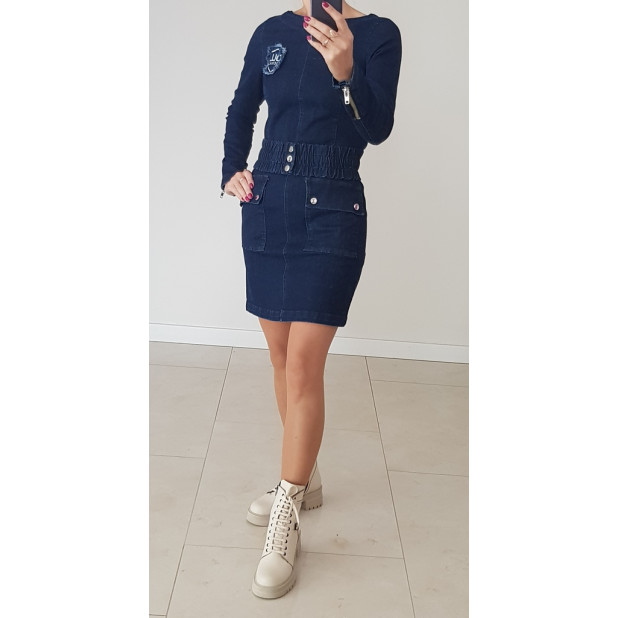 """Mėlyno džinso suknelė """"OLL..."""