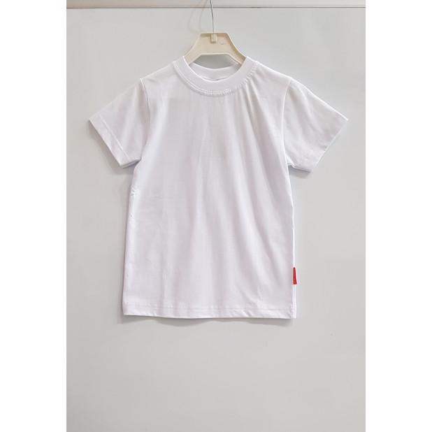 Balti vaikiški marškinėliai