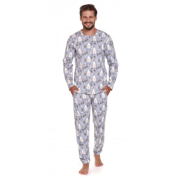 """Vyriška pižama """"Pilki..."""